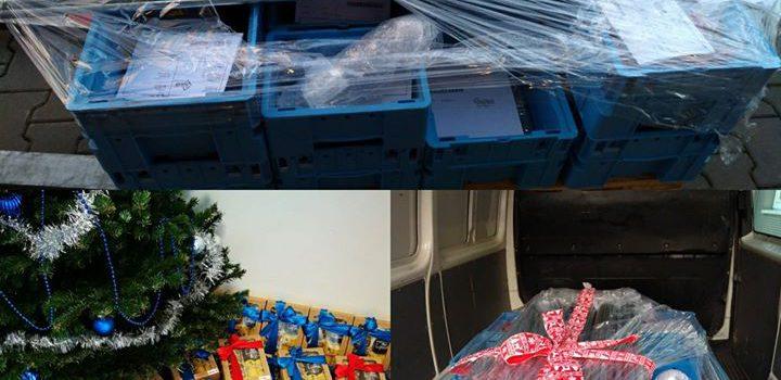 Vánoční dárky předány, poslední zboží …